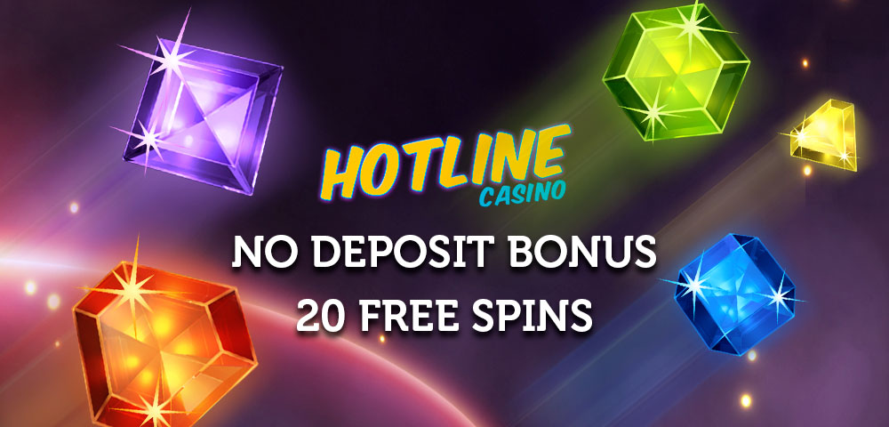 20 FreeSpins for registration in HotlineCasino