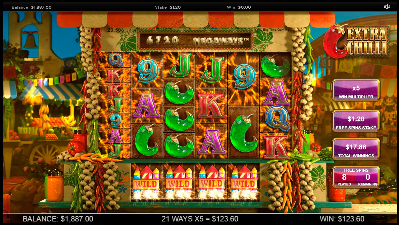 Free spins on reel rush