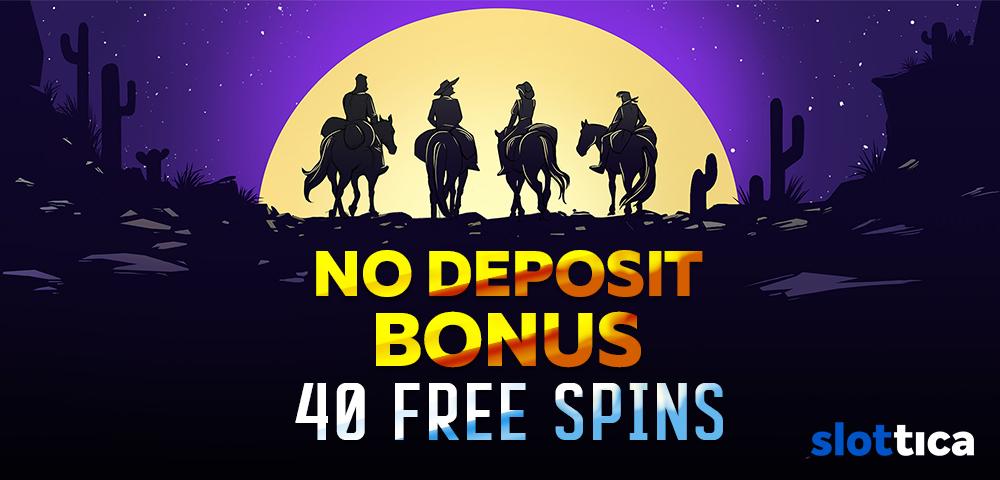 Online Casino Slottica Casino No Deposit Bonus 40 Free Spins
