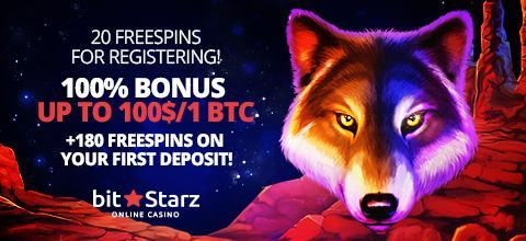 BitStarz online casino: no deposit and welcome bonuses