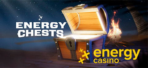 Charge your chest & unlock up to 100 high-value spins at EnergyCasino