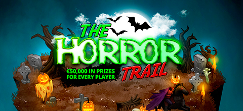 Conquer The Horror Trail to win €50,000 and a trip for two to Bali!