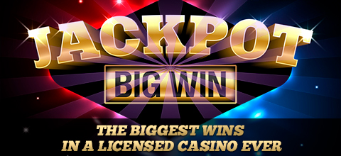Examples of people getting jackpots in a licensed casino