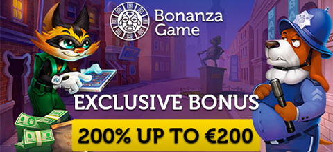 Exclusive bonus from Bonanza Game casino