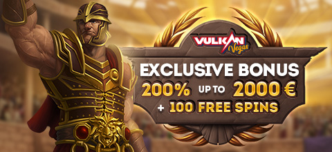Exclusive bonus from Vulkan Vegas Casino
