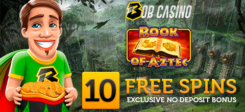 Exclusive No deposit bonus from Bob Casino