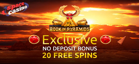 Exclusive No deposit bonus from Space Casino