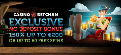 Exclusive welcome bonus from BetChan Casino