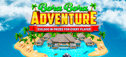 Explore Golden Wonderland to win €50,000 and a trip to Bora Bora!