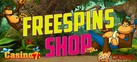 Free spins shop in Casino7