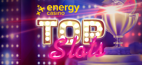 HURRY – 'TOP SLOTS' TOURNAMENT LIVE @ ENERGYCASINO RIGHT NOW!