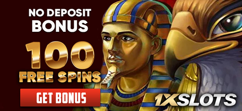 No deposit bonus — 100 free spins at 1xSlots online casino