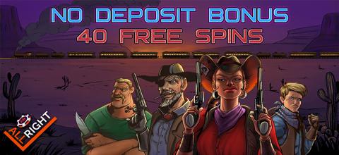 No deposit bonus at All Right Casino