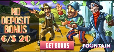 No Deposit Bonus at Fountain Casino