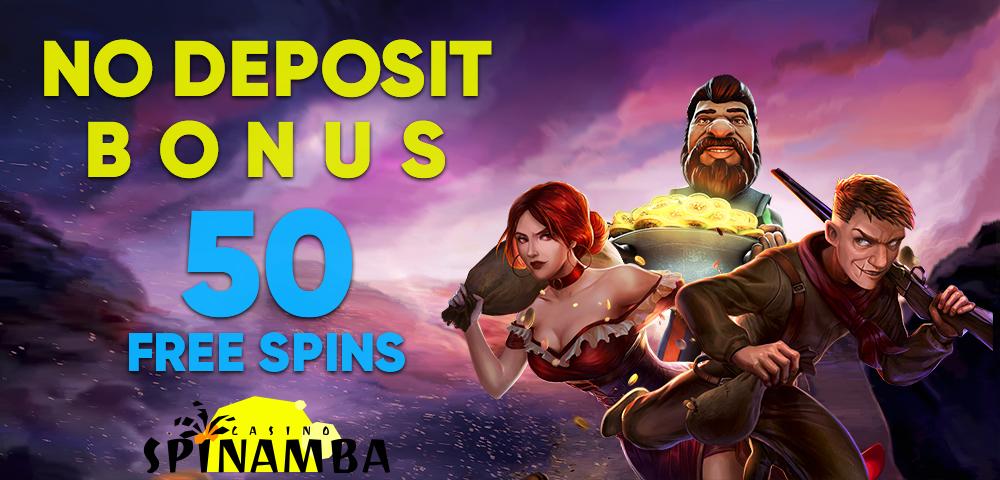 No deposit bonus at Spinamba online casino