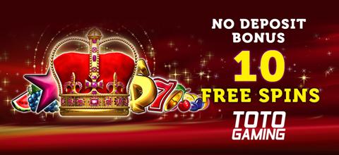 No deposit bonus at TotoGaming online casino