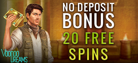 No deposit bonus at VoodooDreams Casino
