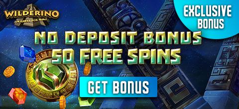 No Deposit Bonus at Wilderino Casino
