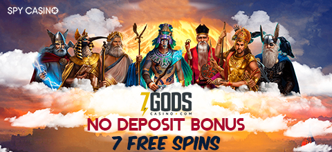 No deposit bonus 7 free spins at 7 Gods Casino