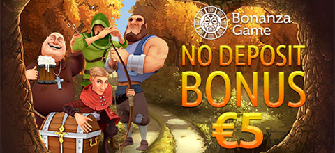 No deposit bonus from Bonanza Game Casino