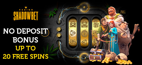 No deposit bonus from ShadowBet Casino