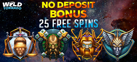 No deposit bonus from WildTornado Casino
