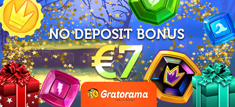 No deposit bonus in Gratorama Casino