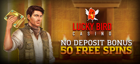 No deposit bonus in online casino Lucky Bird Casino