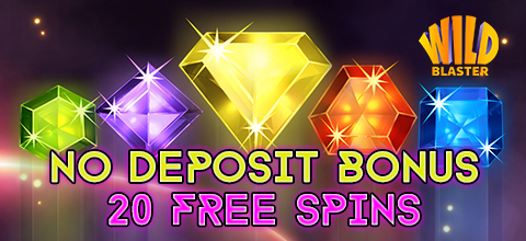 No deposit bonus in WildBlaster Casino