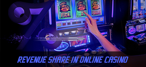 Revenue share in an online casino