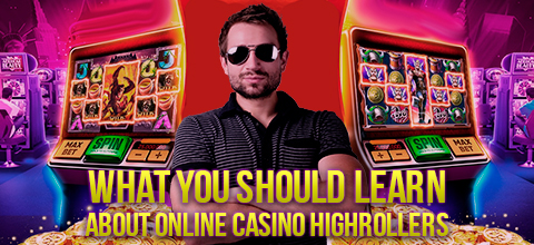 What you should learn about online casino highrollers
