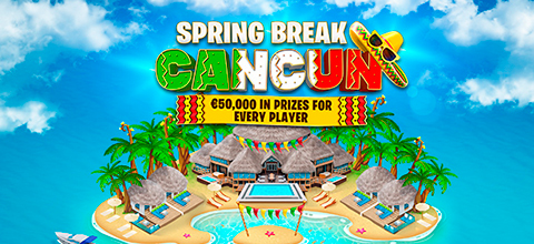 Win 50,000 euros and an exciting trip to Mexico in Spring Break Cancun!