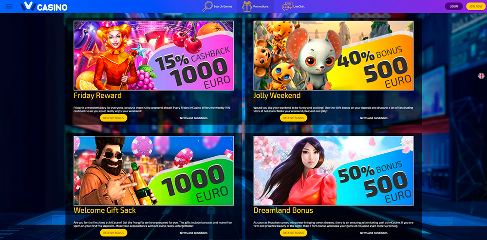 Ivi Casino Online Review 2018 No Deposit Bonus 20 Free Spins