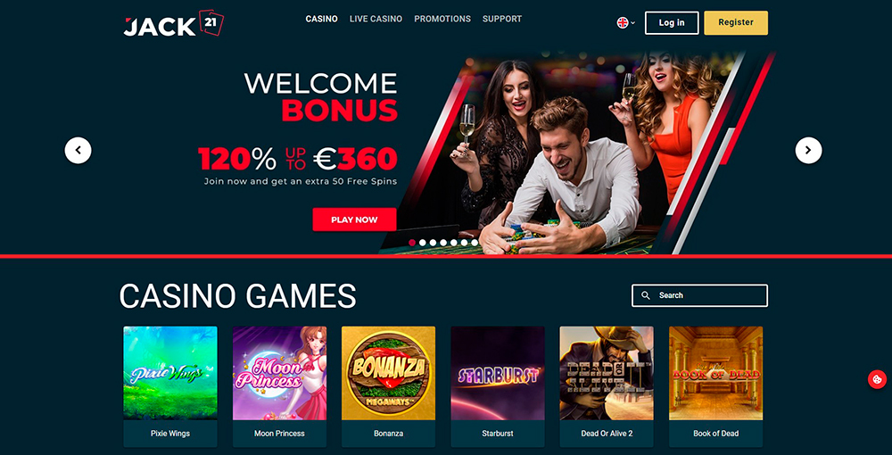 Jack21 Casino Review