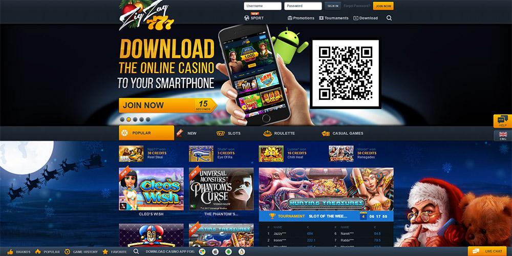 ZigZag777 Casino Review &amp