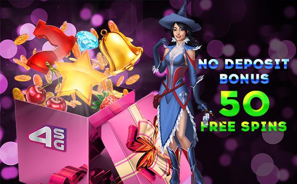 No deposit bonus in online casino 4StarsGames