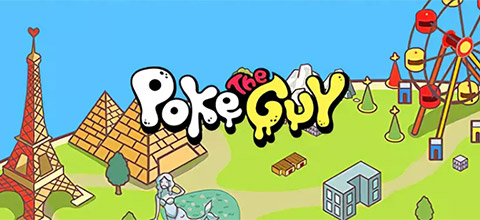 "A new online slot from Microgaming ""Poke the Guy"""