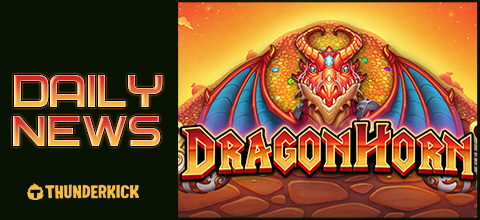 Daily News: Dragon Horn a new slot from Thunderkick