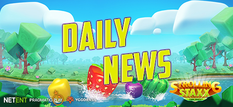 Daily News: NetEnt and Nintendo, Pragmatic Play and Yggdrasil gladiator slots