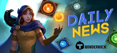Daily News: New slot Raven's Eye from Thunderkick!