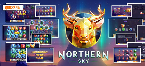 """Northern Sky"" is a new slot from Quickspin about the north"