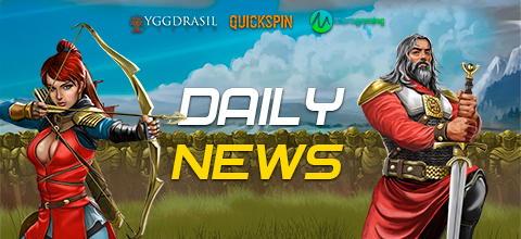 Online casino news - Yggdrasil and Fantasma Games; Quickspin and new slot Immortal King; Microgaming has released a wrestling slot