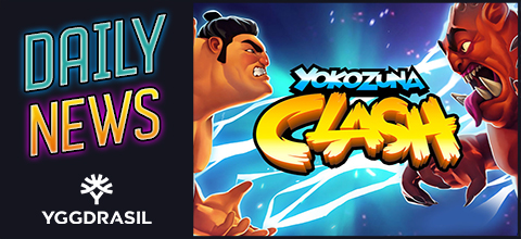 Daily News: Yokozuna Clash - is a new slot from Yggdrasil Gaming