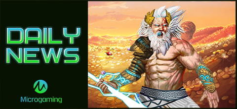 Daily News: Zeus a new slot from Microgaming