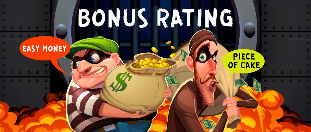Spy-Casino bonuses rating