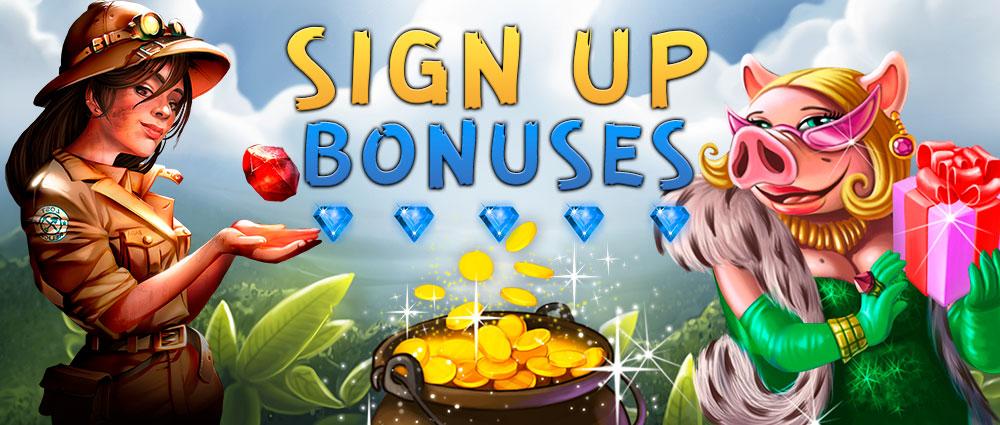 Spy-Casino sign up bonuses